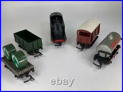 00/H0 GAUGE TRIANG R3E TRAIN SET with JINTY 47606 VERY TIDY VINTAGE SET