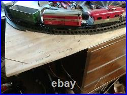 1950s marx train maybe a set. Very nice freight cars about a c8 at least