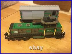 2003 LEGO TRAIN 9V CARGO TRAIN # 4512 SET With Instructions And Box Very Rare