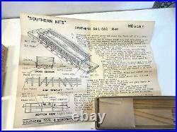 4 HO scale Southern Tool & Mfg. Co. Kits work train set unbuilt very early