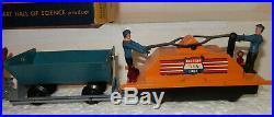 American Flyer Rare Tipple Miners Work Train Set 5300T OB Very Nice Runs Well