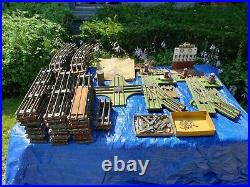 Antique Lionel train set with track and period accessories. Very restorable