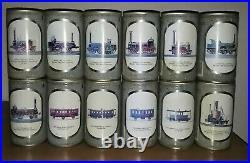 Awsome 12 Becker's Pils beer train can set (very rare)