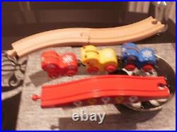 BRIO Trains Swedish Horses with 3 pieces of track Very rare, only set on ebay uk