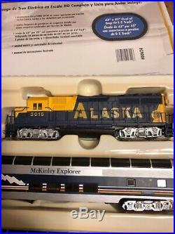Bachmann 00624 HO McKinley Explorer Train Set Very Light Use. Beautiful