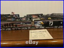 Bachmann Hawthorne Village POW-MIA Express Ho Train Set Very Nice COA