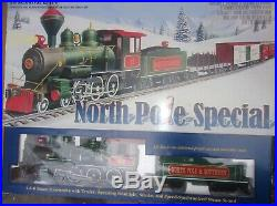 Bachmann North Pole Special Large Scale Model Train Set In Very Good Condition