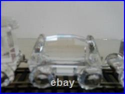 Boxed Very Rare Swarovski Complete Original Train Set with Certificates
