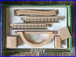 Brio Vintage NOT Often seen Train & Bridge Set Very RARE Wooden Railway