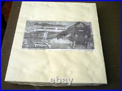 DISTLER OLD 1948, Wind up Tin Set Train, 30354, working, very good