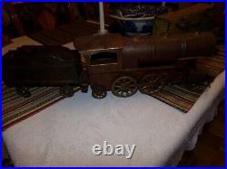 Dayton Hill Scheible Metal Train Set Very Large Nice Original