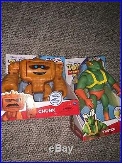 Disney Pixar Thinkway Toy Story Collection Twitch And Chunk Very Rare Full Size