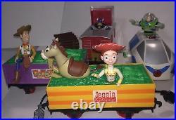 Disney Toy Story 2 Train Set, No Remote, Horse Leg Broken, Condition Very Good