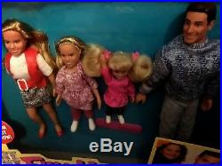 FULL HOUSE TV SHOW Dolls DANNY TANNER and FAMILY Very Rare 1993 Tiger NEW IN BOX