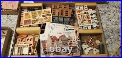 Faller City Kit 901 902 903 904 Ho Scale very rare 1950s 4 slot car or train set
