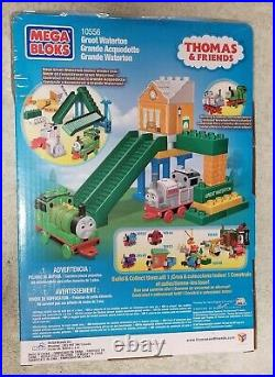 GREAT WATERTON Thomas & Friends Train Play Set Mega Bloks Very Rare