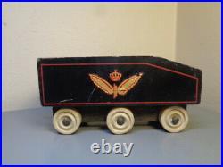 Hanse (lego Denmark) Vintage 1950's Wood Locomotive Tender Very Rare Item Vg