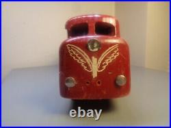 Hanse (lego Denmark) Vintage 1950's Wood Locomotive Very Rare Item Very Good