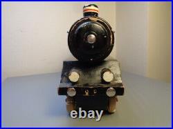 Hanse (lego Denmark) Vintage 1950's Wood Locomotive Very Rare Item Vg