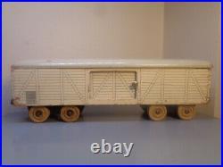 Hanse (lego Denmark) Vintage 1950's Wood Train Wagon Very Rare Item Very Good