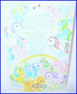 Hasbro Italy MLP My Little Pony MEDLEY Pony Character Figure MOC`83 VERY RARE