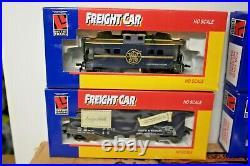 Ho Train Life Like Very Rare Smith & Wesson Express 1995 Set