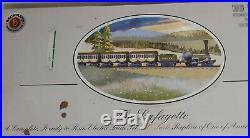 Ho Very Rare Bachmann The Lafayette Early Us Train Complete Set