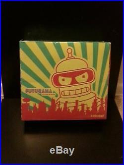Kidrobot FUTURAMA SERIES 1 Sealed Case Very Rare Fry Bender Leela Lrr Nibbler