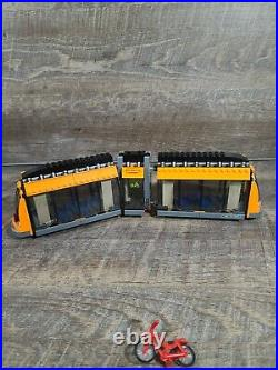 LEGO City Traffic Tram (trolley) ONLY from City Square 60097. Very rare
