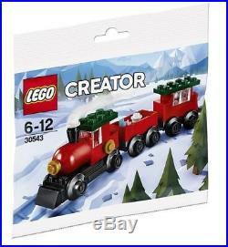 LEGO Creator POLYBAG 30543 Christmas Train 2018 VERY RARE
