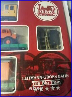 LGB Lehmann Big Train Set 20530 West Germany Very Good.