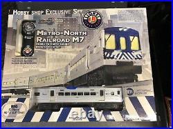 LIONEL Metro-North Railroad M7 train set. Very nice set