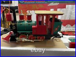 LIONEL The ORNAMENT EXPRESS Large Scale Electric Train Set VERY NICE SMOKE FRE