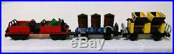 Lego 2126 Cargo Train Add-On 3 Railway Cars INCOMPLETE VERY RARE