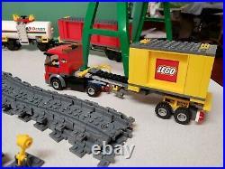 Lego City 7939 Cargo Train Set Very Nice Used With Box