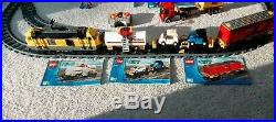 Lego City Cargo Train Set 7939 VERY RARE complete with box and instructions