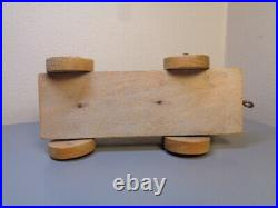 Lego Denmark Vintage 1940's Wood Futti Locomotive Ultra Rare Item Very Good
