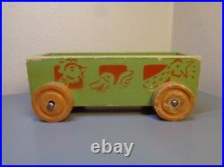 Lego Denmark Vintage 1940's Wood Futti Train Wagon Ultra Rare Item Very Good