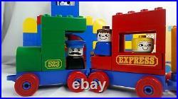 Lego Duplo 523 Locomotive and Station 1977 Retired Set Very Rare No Box