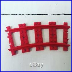 Lego Prototype red Train Track very rare
