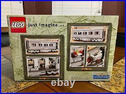 Lego Santa Fe Train Dining Sleeping Observation Car 10022 New Sealed Very Rare