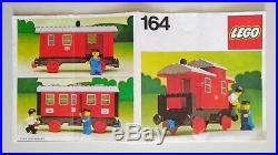 Lego Vintage 164 Passenger Wagon complete with instructions, VERY RARE