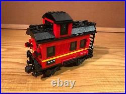 Lego train 10014 caboose, 9v era, very nice condition, lot 4