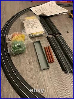 Life Like Rolling Rails HO Electric Train Set, Very Rare Santa Fe Locomotive