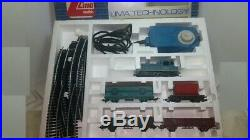 Lima H0 TECHNOLOGY 5X pieces Complete Train Set in Very good condition + LED