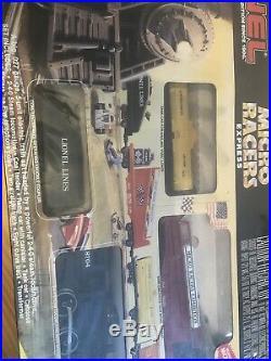 Lionel 027 Micro Racers Express Train Set. Vintage Set. Very Nice