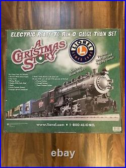 Lionel A Christmas Story O-Gauge Electric Train Set VERY RARE