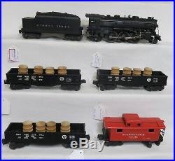Lionel Postwar 224, 2466t, 2452,2452,2452,2472 Train Set In Very Nice Condition