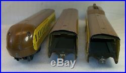 Lionel Prewar 751e M-1000 Up Passenger Train Set Very Good In Original Boxes