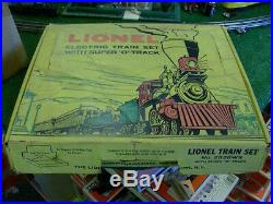 Lionel Trains Postwar No. 2528ws Train Set 1959-61 Very Nice